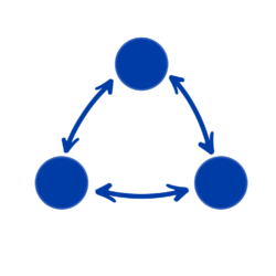 White Facilitation Icon